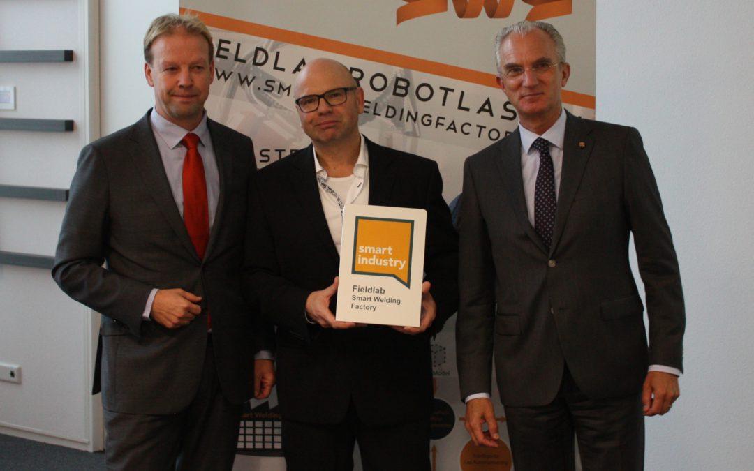 Smart Welding Factory ontvangt officiële Fieldlabstatus