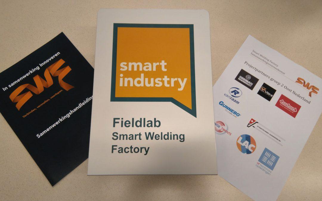 Fieldlab Smart Welding Factory breidt uit met negen nieuwe partners