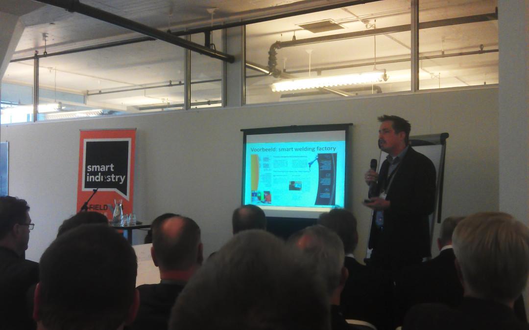 Smart Welding Factory gepresenteerd bij landelijke aftrap Smart Industry